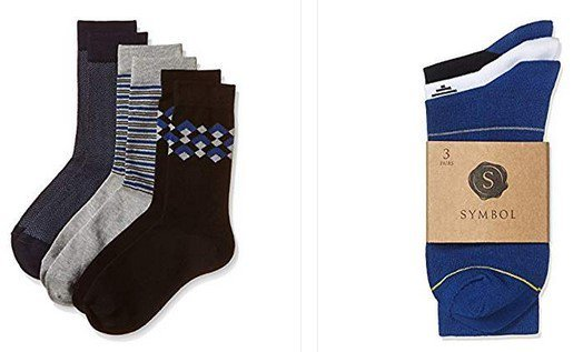 Get Symbol Socks Pack of 3      at Rs 199 | Amazon Offer