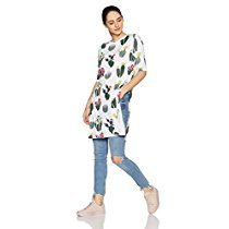 Get Symbol Women'S All Over Printed Viscose T-Shirt at Rs 274 | Amazon Offer
