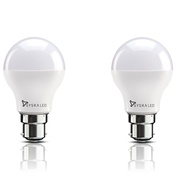 Get Syska Base B22 8-Watt LED Bulb (Pack of 2, Cool Day Light) at Rs 200 | Amazon Offer