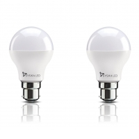 Get Syska Base B22 9-Watt LED Bulb (Pack of 2, Cool Day Light) at Rs 269 | Amazon Offer