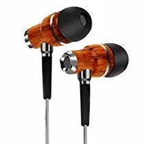 Get TAGG Symphony X-150 In-Ear Headphones with Mic Handcrafted with Genuine Wood at Rs 1044 | Amazon