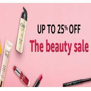 Get The Beauty Sale Upto 25% OFF | Amazon Offer
