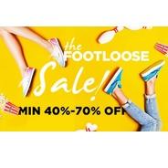 Get The Footloose Sale - Minimum 40% - 70% OFF | Jabong Offer