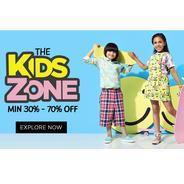 Get The Kids Zone Minimum 30% - 70% OFF | Jabong Offer