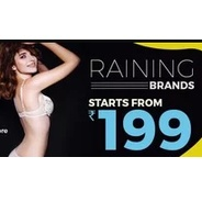 Get Thursday Lingerie Fest - Jockey, Zivame, Clovia & More Lingerie Start Rs.183 at Rs 183 | Voonik