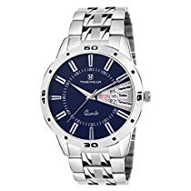Get Timewear Analog Blue Dial Day and Date Watch for Men at Rs 319 | Amazon Offer