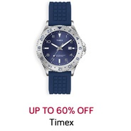 Get Timex Watch Upto 60% OFF | TataCliq Offer