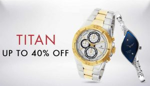Get Titan Watches 50% to 60% off   at Rs 815 | Amazon Offer