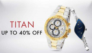 Get Titan Watches 80% off   at Rs 3000 | Amazon Offer