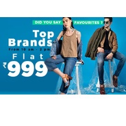 Get Top Brands Fashion Apparels Flat Rs.999 at Rs 999 | Jabong Offer
