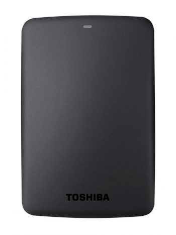 Get Toshiba Canvio Basic 3TB External Hard Drive (Black) at Rs 6499 | Amazon Offer