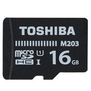 Get Toshiba M203 16 GB MicroSD Card Class 10 100 MB/s Memory Card at Rs 399 | Flipkart Offer