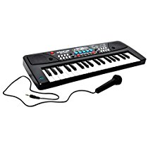 Get Toykart 37 Key Piano Keyboard Toy with DC Power Option, Recording and Mic for kids – 2018 Late