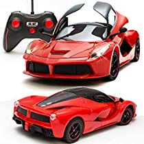 Get Toyshine Ferrari Remote Control Car Rechargeable Opening Do at Rs 749 | Amazon Offer