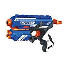 Get Toyshine Foam Blaster Gun Toy Safe and Long Range 10 Bullet at Rs 379 | Amazon Offer