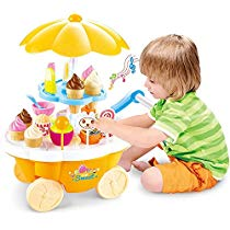 Get Toyshine Ice Cream Kitchen Play Cart Kitchen Set Toy with at Rs 799 | Amazon Offer