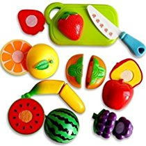 Get Toyshine Realistic Sliceable 6 Pcs Fruits Cutting at Rs 328 | Amazon Offer