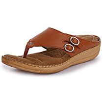 Get TRASE Women'S Tan Synthetic Fashion Slippers(3 Ind/Uk (36 E at Rs 474 | Amazon Offer