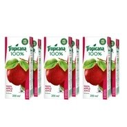 Get Tropicana 100% Apple Juice, 200ml each (Pack of 6) at Rs 102 | Amazon Offer