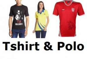 Get Tshirts & Polos Minimum 50% off + 15% Cashback   india at Rs 99 | Amazon Offer