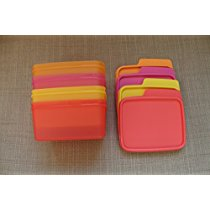 Get Tupperware Keep Tab Plastic Container Set, 500ml, Set of 4, Multicolour (TUP_B01AQEW3J0) at Rs 4