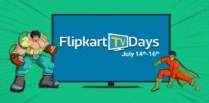 Get  TV Days – TVs upto 50% off + Exchange offer + 10% off on Debit Credit Cards | Flipkart Offer