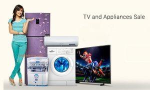 Get  TVs and Appliances Sale upto 50% off  + 10% Off on  2000 + Exchange Offers | Flipkart Offer
