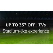 Get TVs Upto 35% OFF | Amazon Offer
