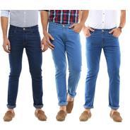 Get Uber Urban Regular Men Multicolor Jeans (Pack of 3) at Rs 1649 | Flipkart Offer