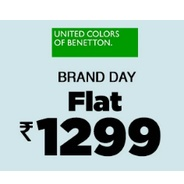 Get United Colors of Benetton Clothing Flat Rs.1299 at Rs 1299   Jabong Offer