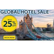 Get Upto 25% OFF Global Hotel Sale | Expedia Offer