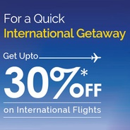 Get Upto 30% Off On International Flight Booking | GoIbibo Offer