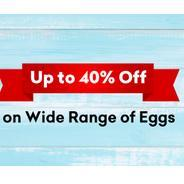 Get Upto 40% OFF on Wide Range Of Eggs | Grofers Offer