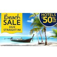 Get Upto 50% OFF Beach Sale | Expedia Offer