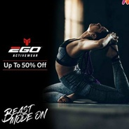 Get Upto 50% OFF On 2go Sports and Active Wear | Myntra Offer