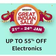 Get Upto 55% OFF On Electronics | Amazon Offer