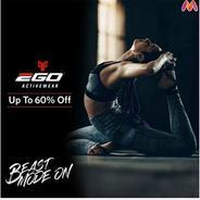 Get Upto 60% OFF On 2go Sports and Active Wear | Myntra Offer