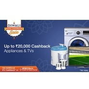 Get Upto Rs.20000 Cashback on Appliances & TVs | paytmmall Offer