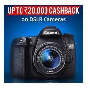Get Upto Rs.20000 Cashback on DSLR Cameras | paytmmall Offer