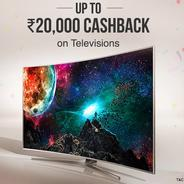 Get Upto Rs.20000 Cashback on Televisions | paytmmall Offer