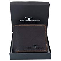 Get URBAN FOREST Brown Mens Wallet at Rs 569 | Amazon Offer