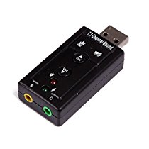 Get Usb Sound Card Audio Adapter With Mic (Plug n Play) at Rs 217 | Amazon Offer
