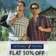 Get Vettorio Fratini Mens Clothing Flat 50% OFF | Amazon Offer