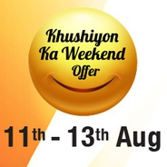 Get Videocon d2h Khushiyon Ka Weekend Offer -HD English Movies and Entertainment add-on at Rs.1 for