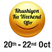 Get Videocon d2h Khushiyon Ka Weekend Offer - Superhit Movie Bonanza With D2h Movies at Rs.1 for 30