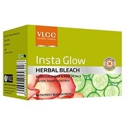 Get VLCC Insta Glow Herbal Bleach, 54gm at Rs 52 | Amazon Offer