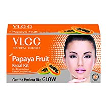Get VLCC Papaya Fruit Facial Kit, 60gm at Rs 125 | Amazon Offer