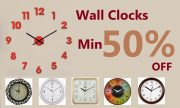 Get Wall Clocks Min 25% off starting      at Rs 227 | Amazon Offer