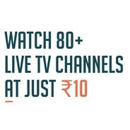 Get Watch 80+ Live ChannelsAt Just Rs.10 on Tappp With Freecharge at Rs 10 | Freecharge Offer
