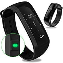 Get Wearfit WF MS2 Fitness Waterproof Pedometer Sport Activity Tracker (Black) at Rs 3995 | Amazon O